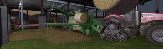Landwirtschafts-Simulator 17 Strohbergung Addon - Machen wir doch einfach mehr aus Stroh!