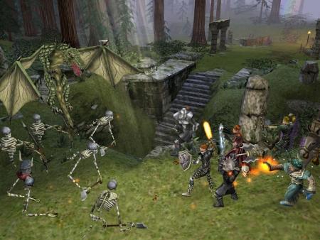 Dungeon Siege: Screen zum Spiel.