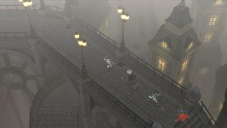 LOST SPHEAR: Screen zum Spiel.