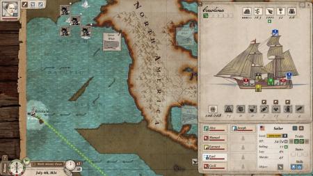 Nantucket: Screen zum Spiel.