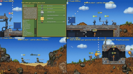 Cortex Command: Screen zum Spiel.