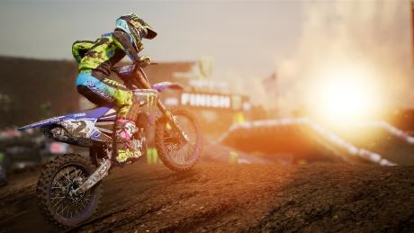 Monster Energy Supercross - The Official Videogame: Screen zum Spiel.