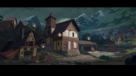 Ash of Gods: Redemption: Screen zum Spiel.