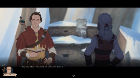 Ash of Gods: Redemption: Screen aus der Preview Version von Ash of Gods: Redemption.