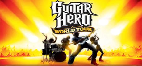 Logo for Guitar Hero: World Tour