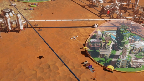 Surviving Mars: Screen zum Spiel.