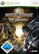 Logo for Mortal Kombat vs. DC Universe