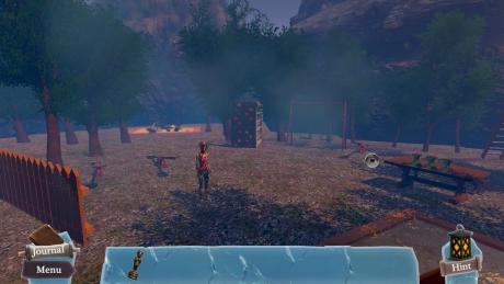 The Dreamlands: Aisling's Quest: Screen zum Spiel.