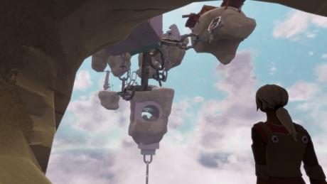 Worlds Adrift: Screen zum Spiel.