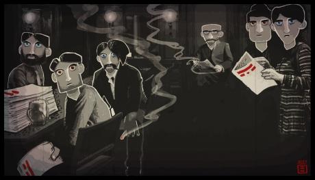 Through the Darkest of Times: Screen zum Spiel  Through the Darkest of Times.