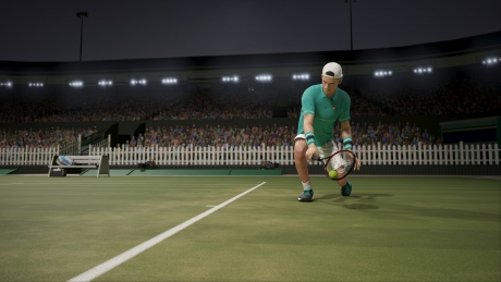 AO International Tennis: Screen zum Spiel.