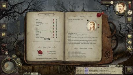 Grimmwood: Screen zum Spiel.