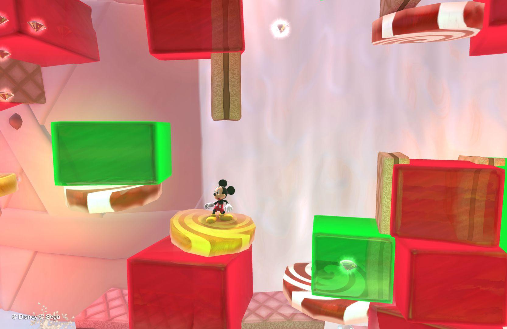 Castle of Illusion: Screen zum Spiel.