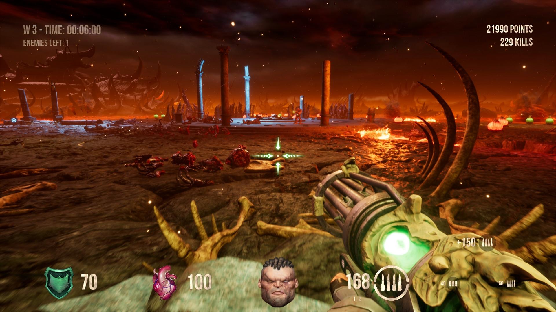 Hellbound: Survival Mode: Screen zum Spiel.