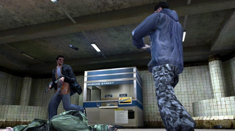 Max Payne: Screen zum Spiel  Max Payne.