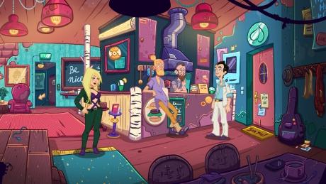 Leisure Suit Larry - Wet Dreams Don't Dry: Screen zum Spiel.