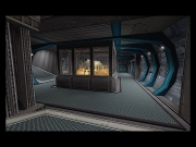Team Fortress 2: Screen aus der Map CTF Moonwalk.