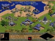 Age of Empires: Die Arbeiter treiben fleißig den Goldabbau vorran.