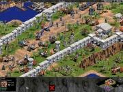 Age of Empires: The Rise of Rome: Rot wird vom Schlachtfeld gedrängt, der blaue Spieler scheint sich erfolgreich zur Wehr setzen zu können.