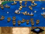 Age of Empires II: The Age of Kings: Eine Seeschlacht mit griechischem Feuer