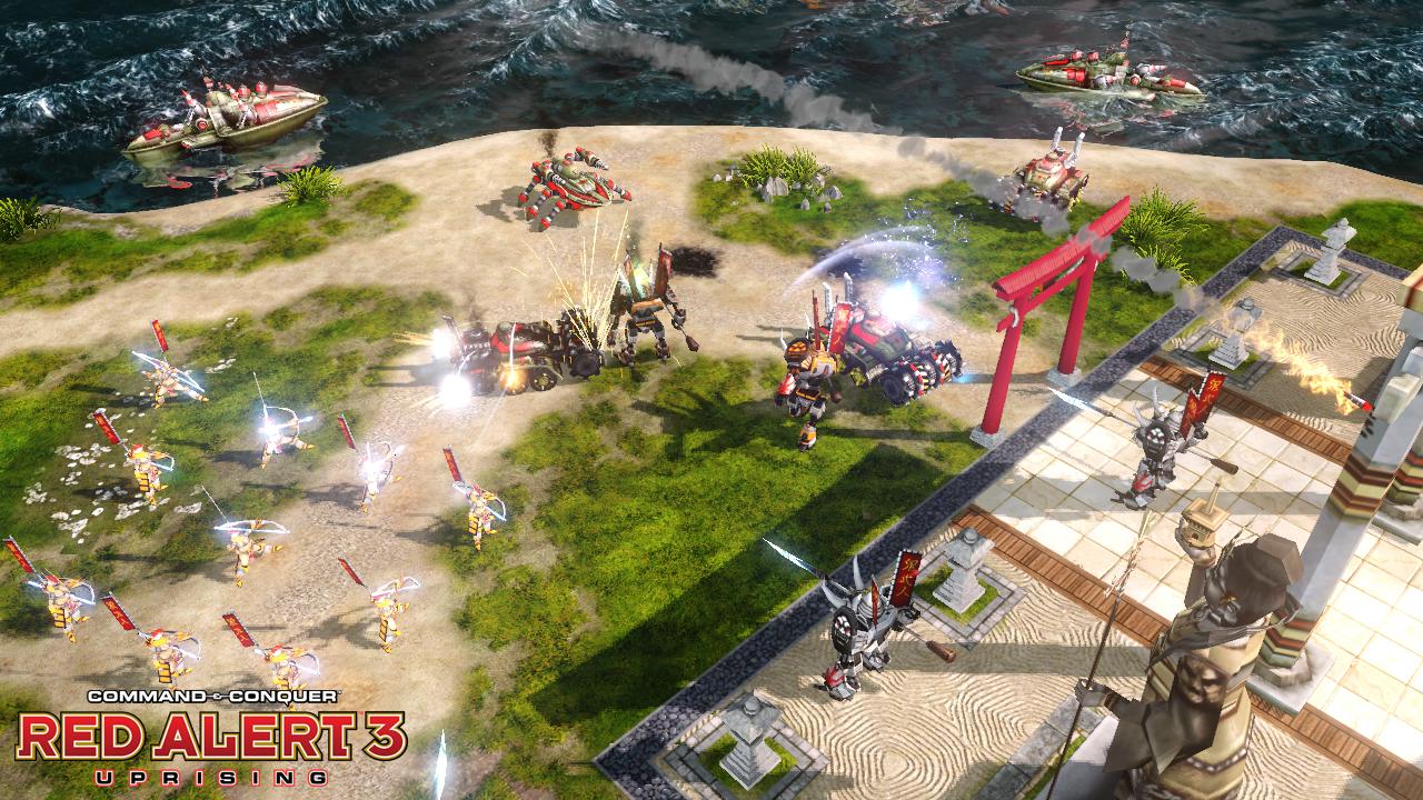 Command & Conquer Alarmstufe Rot 3: Der Aufstand: Screenshot -  Command & Conquer Alarmstufe Rot 3: Der Aufstand