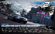 Need for Speed World: Das offizielle Two Year Anniversary Wallpaper