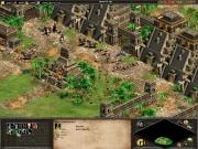 Age of Empires II: The Conquerors: Die Mayatempel halten gegen die blauen Invasoren stand