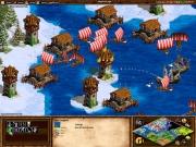 Age of Empires II: The Conquerors: Die Wikinger verteidigen ihre Häfen im kühlen Norden.