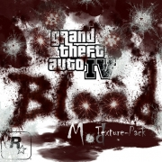 Grand Theft Auto IV: Logo - GTA IV Blood Mod