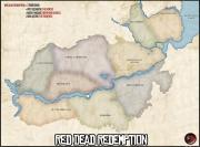 Red Dead Redemption: Übersichtskarte der Spielwelt