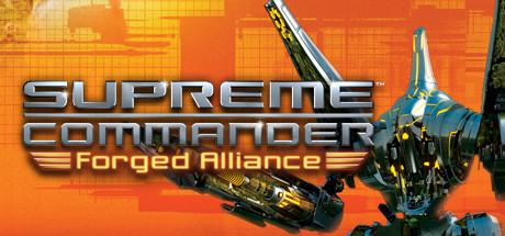 Logo for Supreme Commander: Forged Alliance