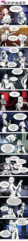 Mass Effect 2: Comic zum weiblichen Shepard