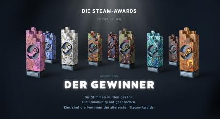 Allgemein - Das sind die Gewinner der Steam-Awards