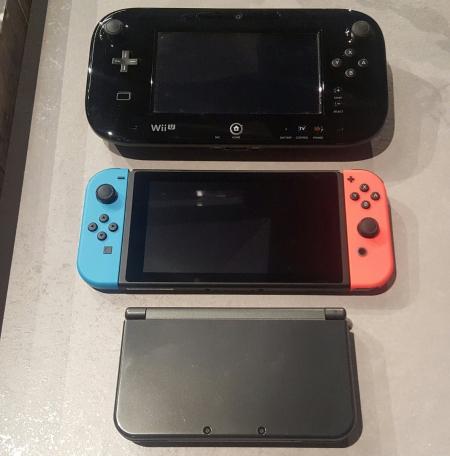 Allgemein - Erste Bilder zeigen Größenvergleich mit Wii U und Nintendo 3DS - Vorbestellung möglich!