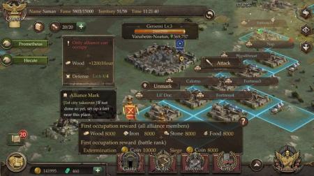 Allgemein - Mobile Game Immortal Conquest: Europe wird auf Google Play als bestes neues Spiel gefeiert