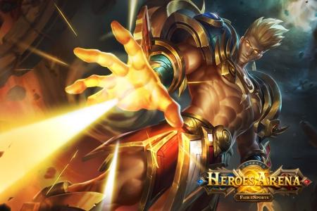 Allgemein - Heroes Arena feiert weltweiten Release für iOS und Android
