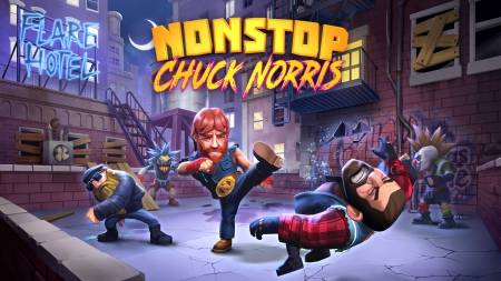 Allgemein - Action-Mobile Game Nonstop Chuck Norris nun online