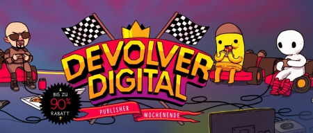 Allgemein - Devolver Digital beim Steam Publisher Weekend