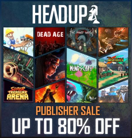 Allgemein - Deine Chance auf ermäßigte Titel aus dem Hause HeadUp Games - Steam Publisher Sales