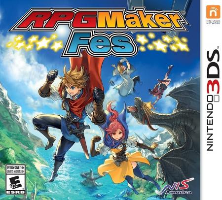 Allgemein - RPG Maker Fes für den Nintendo 3DS erhältlich