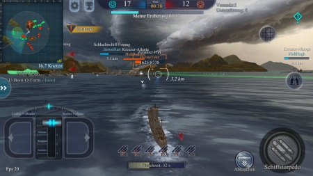 Allgemein - Echtzeit PvP Flottengefechtsspiel Fleet Glory in mobiler Form veröffentlicht