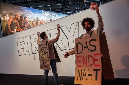 Allgemein: Gamescom 2017 - Coseplay und kostümierte Mitarbeiter