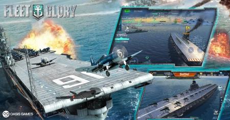Allgemein - Neues Update für Fleet Glory bringt Flugzeugträger ins Spiel