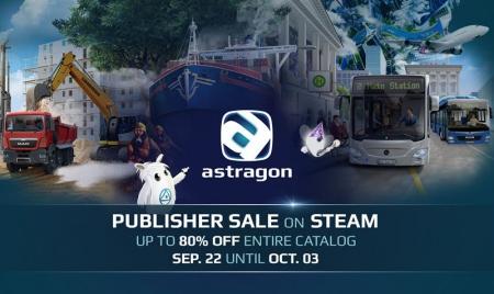 Allgemein - astragon kündigen ihr Entwickler Steam-Sale an - Viele Spiele mit bis zu 80 Prozent Rabatt