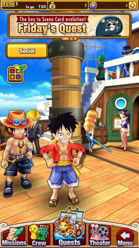 Allgemein - Massives Update für Mobile Game One Piece Thousand Storm erschienen