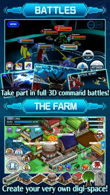 Allgemein - Digimon Links für iOS und Android erschienen