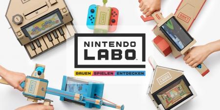 Allgemein - Nintendo stellt Nintendo Labo für die Switch vor