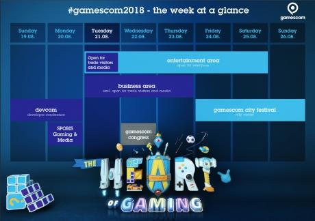 Allgemein - Kölnmesse verzeichnet starkes Interesse für kommende Gamescom 2018