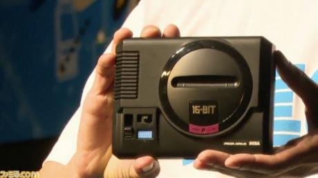 Allgemein - Sega enthüllt Retro-Konsole Mega Drive Mini