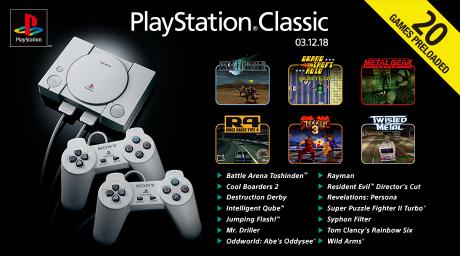 Allgemein: Playstation Classic Konsole